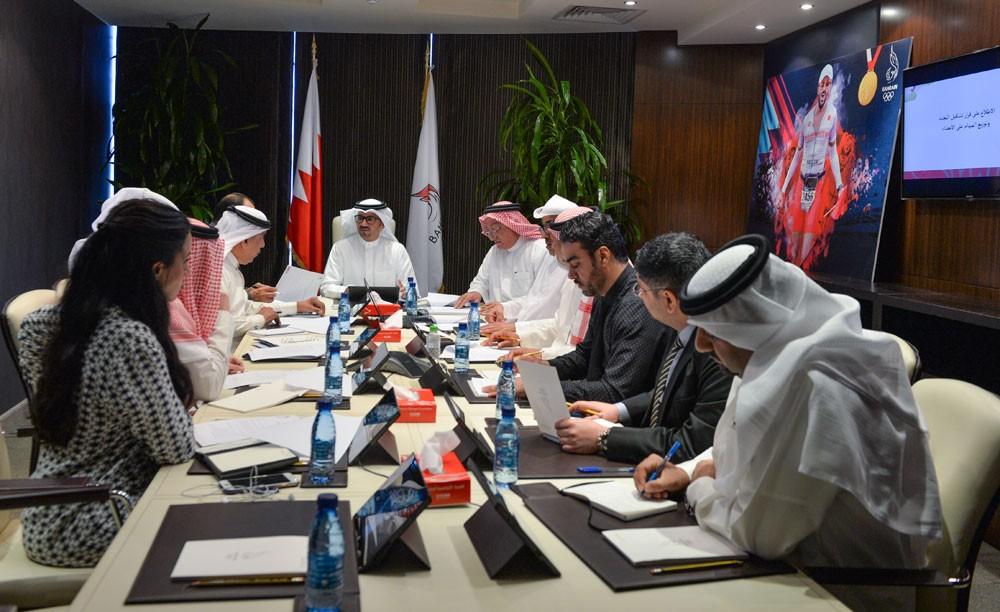 النصف يترأس الاجتماع الأول للجنة التحضير لاجتماع الجمعية العمومية
