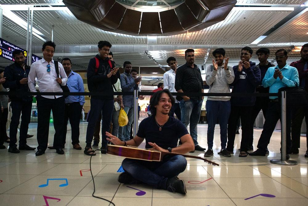 """إبداعات مُستلهَمة في """"مهرجان مترو دبي للموسيقى"""""""