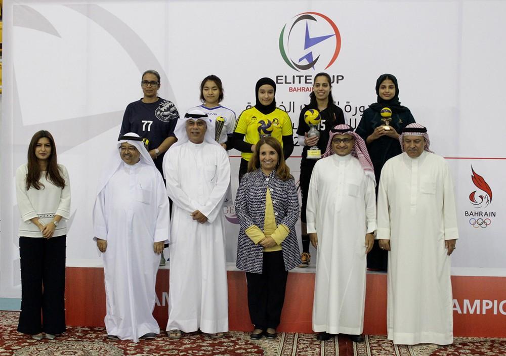 طائرة المحرق تحصد لقب دورة النخبة الخليجية للسيدات