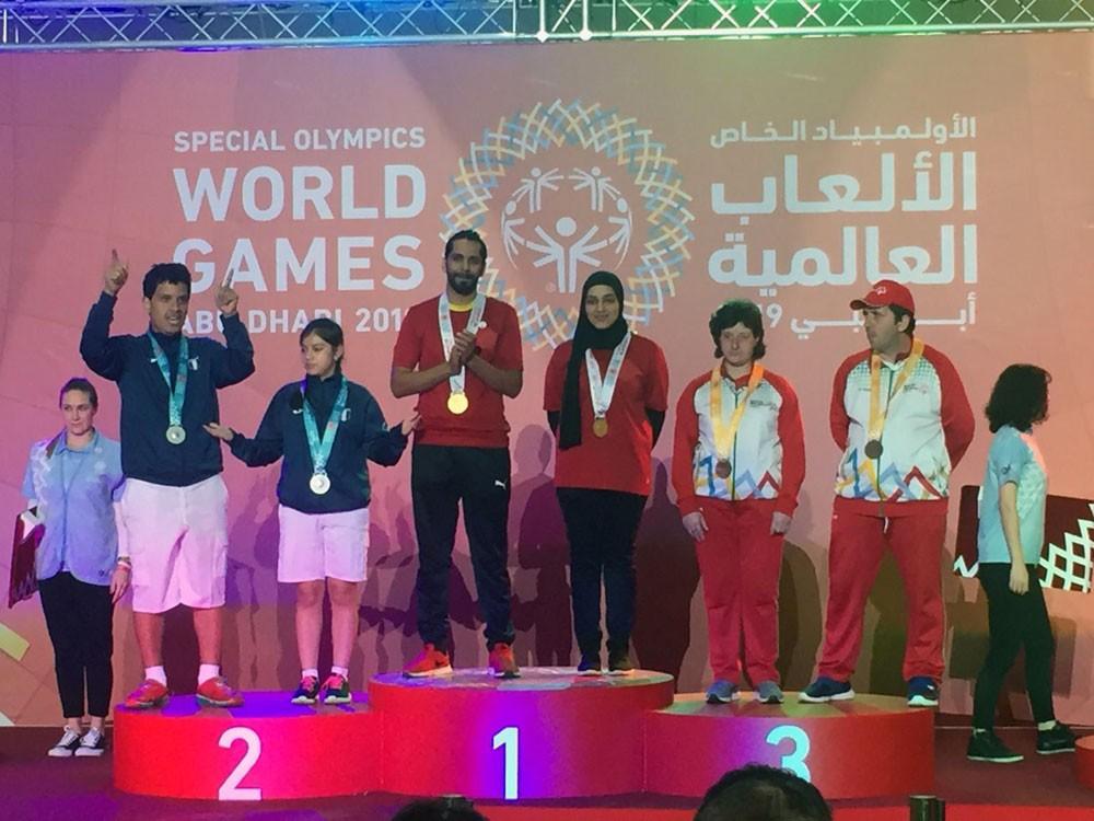 16 ميدالية ذهبية و12 فضية و11 برونزية حصيلة ابطال ذوي العزيمة