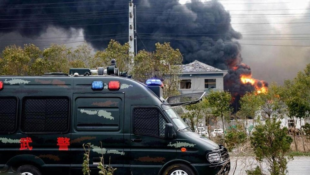 47 قتيلاً جراء انفجار في مصنع للكيماويات شرقي الصين
