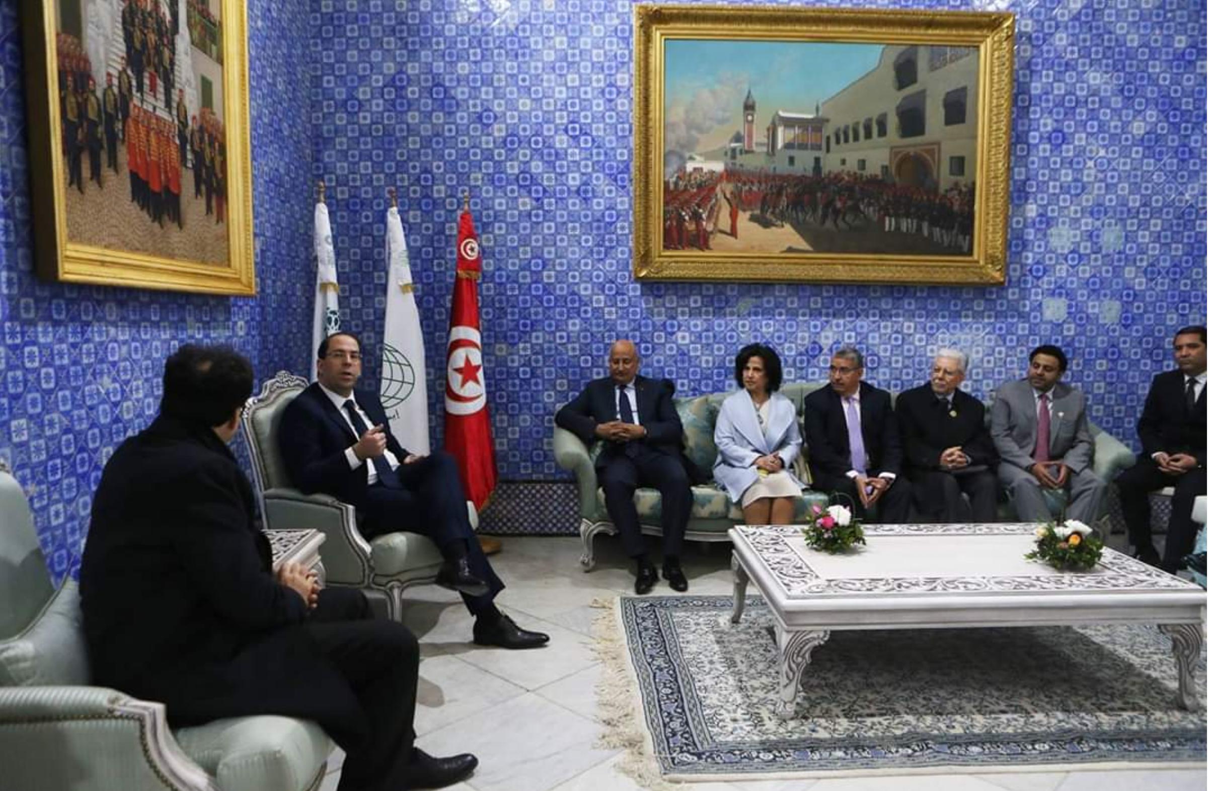 الشيخة مي تشارك في احتفال إطلاق تونس عاصمة الثقافية الإسلامية 2019