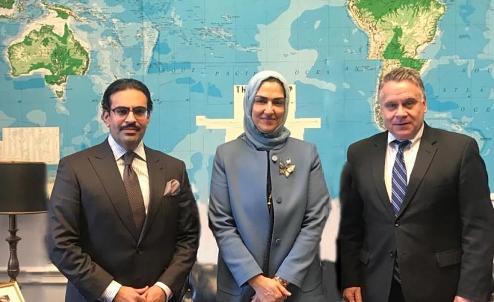اختتام زيارة وفد المجلس الأعلى للمرأة برئاسة الأنصاري الى نيويورك وواشنطن