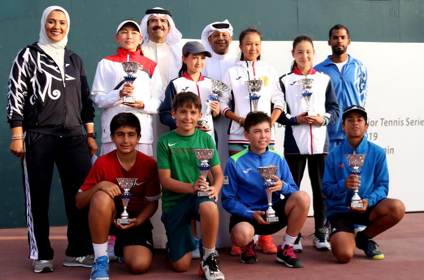 ختام البطولة الآسيوية للتنس تحت 14 سنة