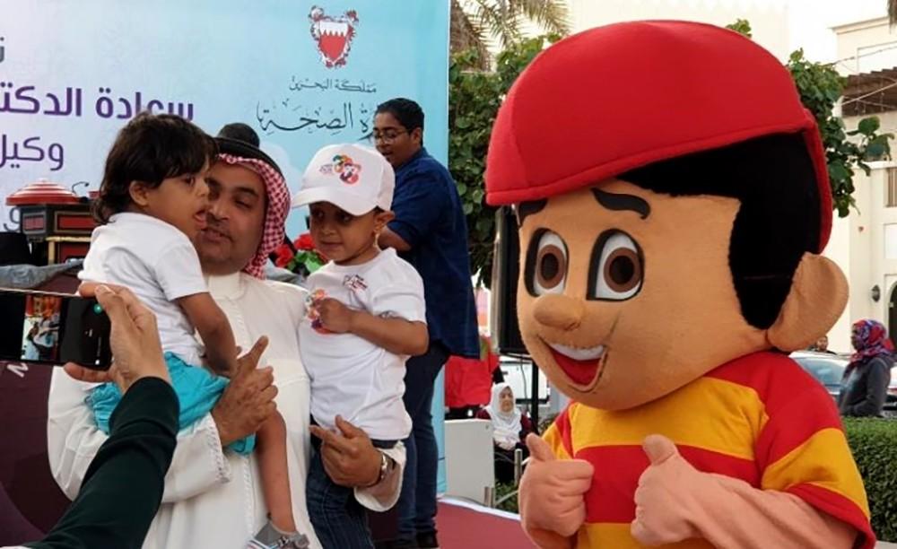 قسم أمراض الكلى بمجمع السلمانية يحتفل باليوم العالمي لكلى الأطفال