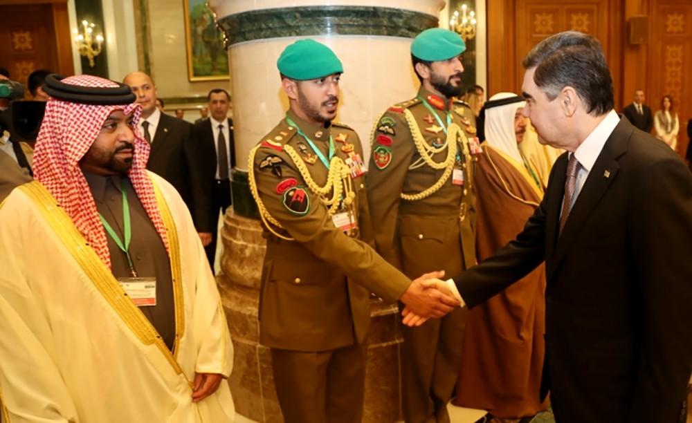 سمو الشيخ فيصل بن راشد: زيارة جلالة الملك إلى تركمانستان تفتح آفاقًا جديدة من التعاون بين البلدين