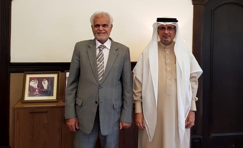 أبو الفتح يبحث مع رئيس المجلس البلدي للشمالية الخدمات البلدية في المحافظة
