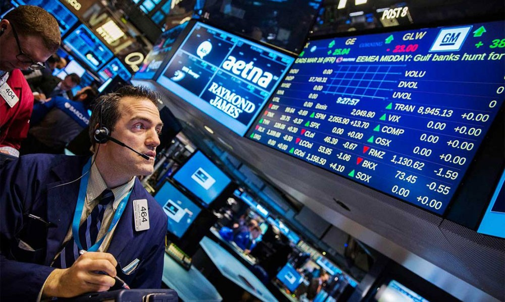 تراجع مؤشرات الأسهم الأمريكية في بورصة وول ستريت