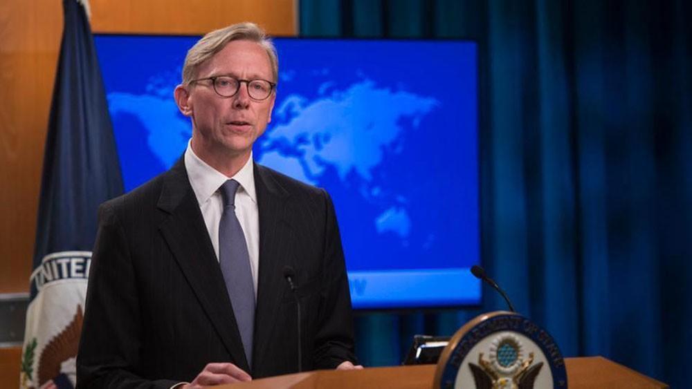 هوك: على حكام إيران أن يفكروا بمصالح شعبهم