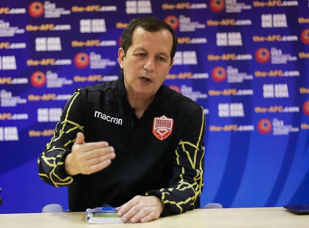 شمام : عناصر منتخبنا الأولمبي تملك التميز و هم مستقبل الكرة البحرينية