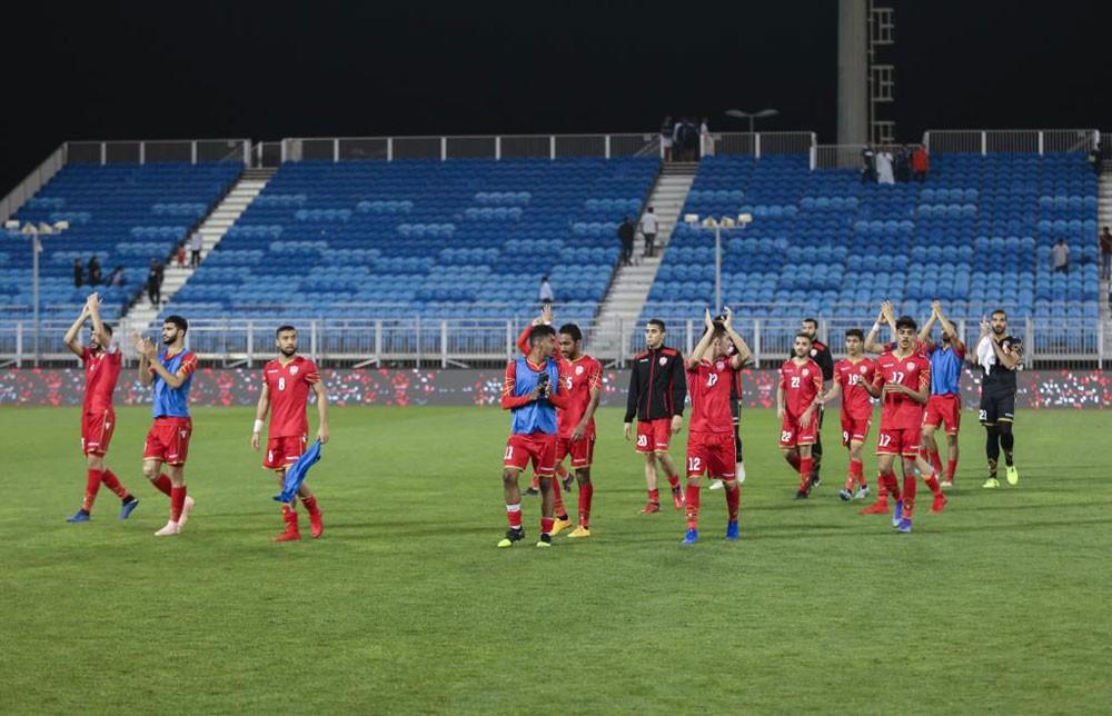 الأولمبي يلاقي فلسطين في مباراة حاسمة