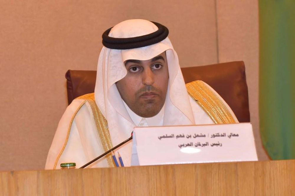 رئيس البرلمان العربي يرفض رفضاً قاطعاً قرار ترامب بسيادة اسرائيل على الجولان السوري المحتل