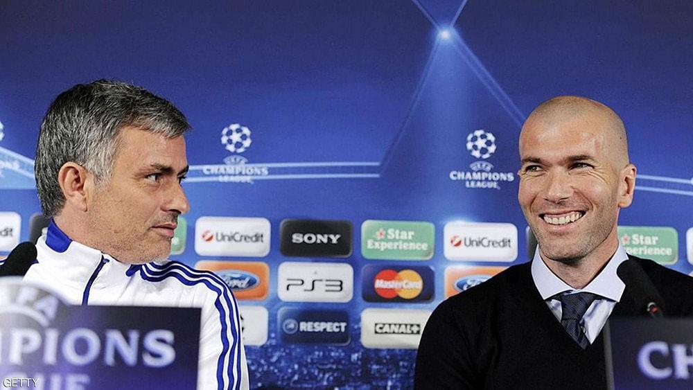 مورينيو يعلق على عودة زيدان إلى ريال مدريد