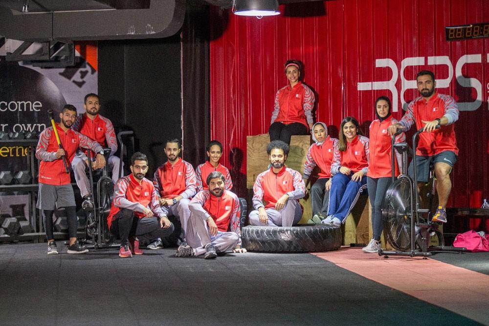 فريق البحرين يشارك في بطولة الألعاب الحكومية بدبي