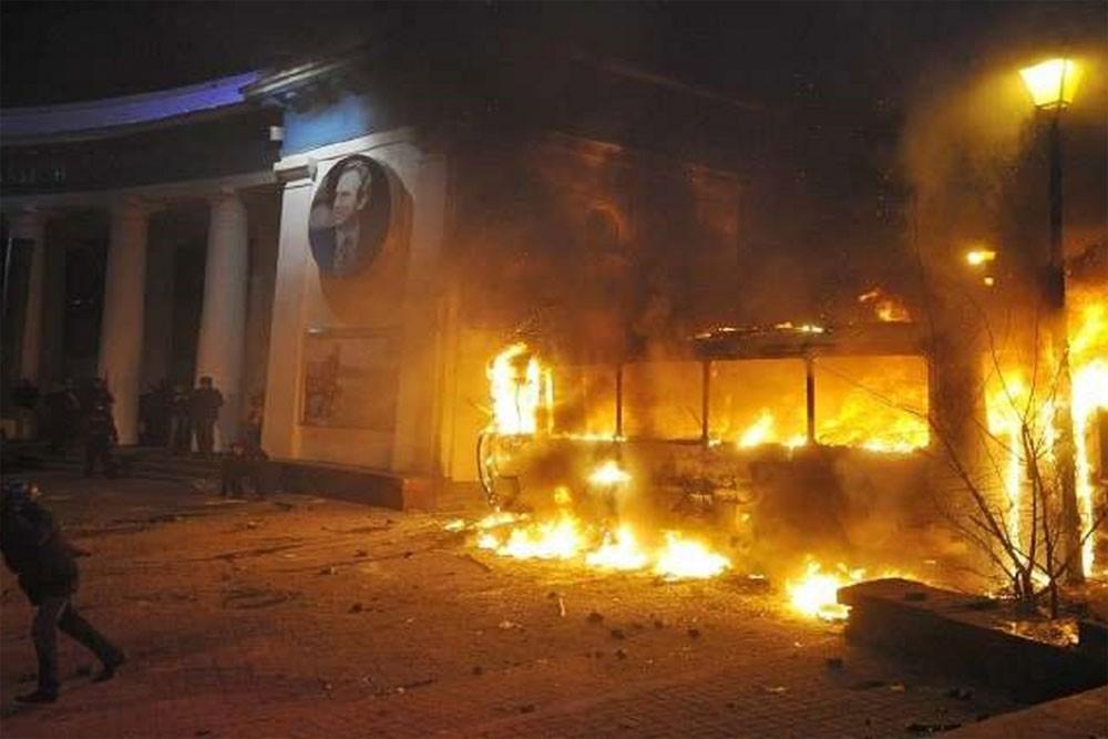 مصرع 20 شخصا جراء اندلاع حريق بحافلة في بيرو