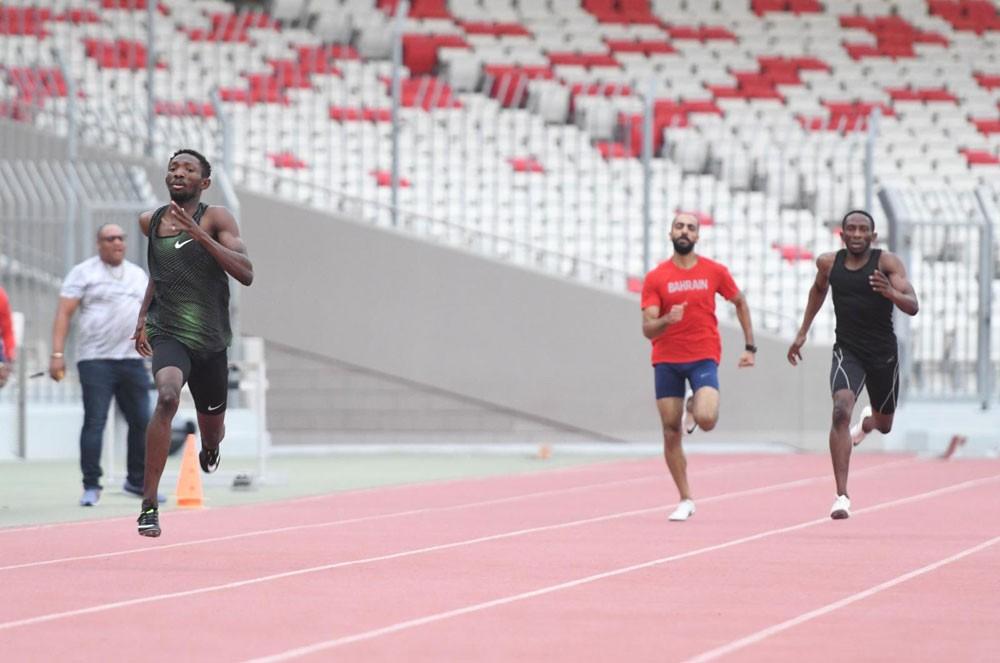 منتخب القوى يغادر للمشاركة في البطولة العربية