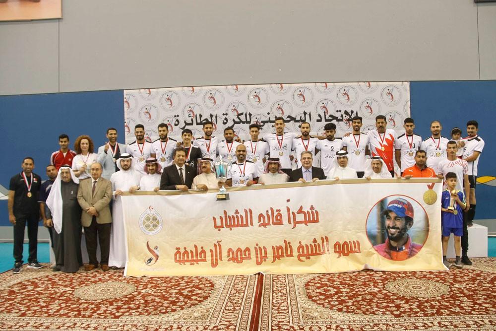 صقر بن سلمان وعلي بن محمد يتوّجان البحرين بلقب النسخة الأولى