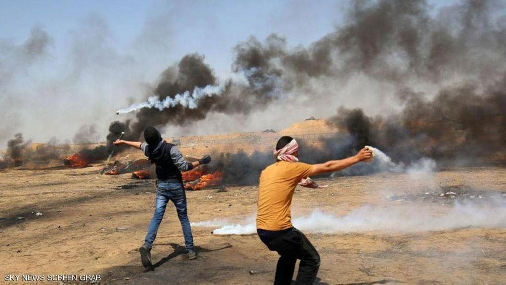 إصابة عشرات الفلسطينيين برصاص إسرائيلي في غزة