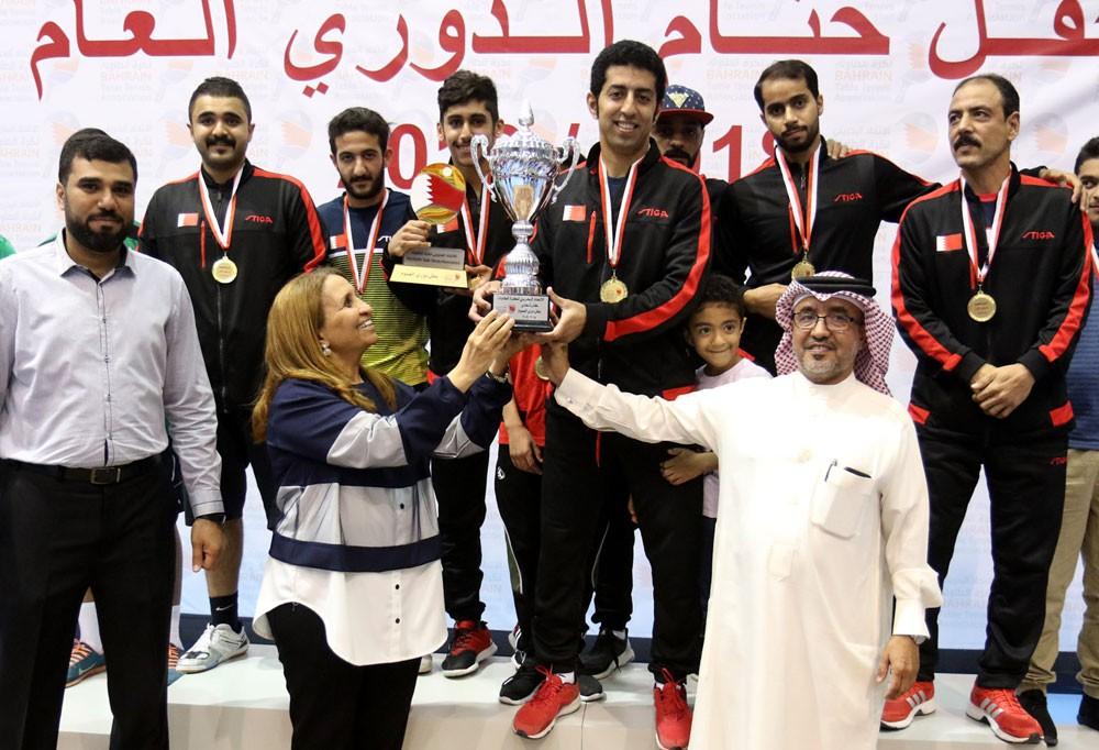 حياة بنت عبدالعزيز تتوج سار بطلاً لدوري العموم لكرة الطاولة