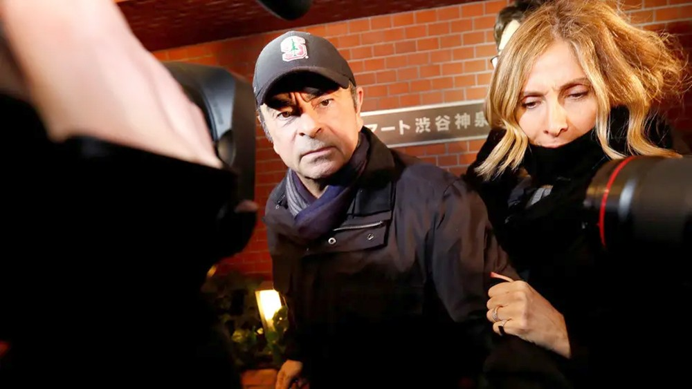 الادعاء الياباني يستجوب زوجة غصن في محكمة بطوكيو اليوم