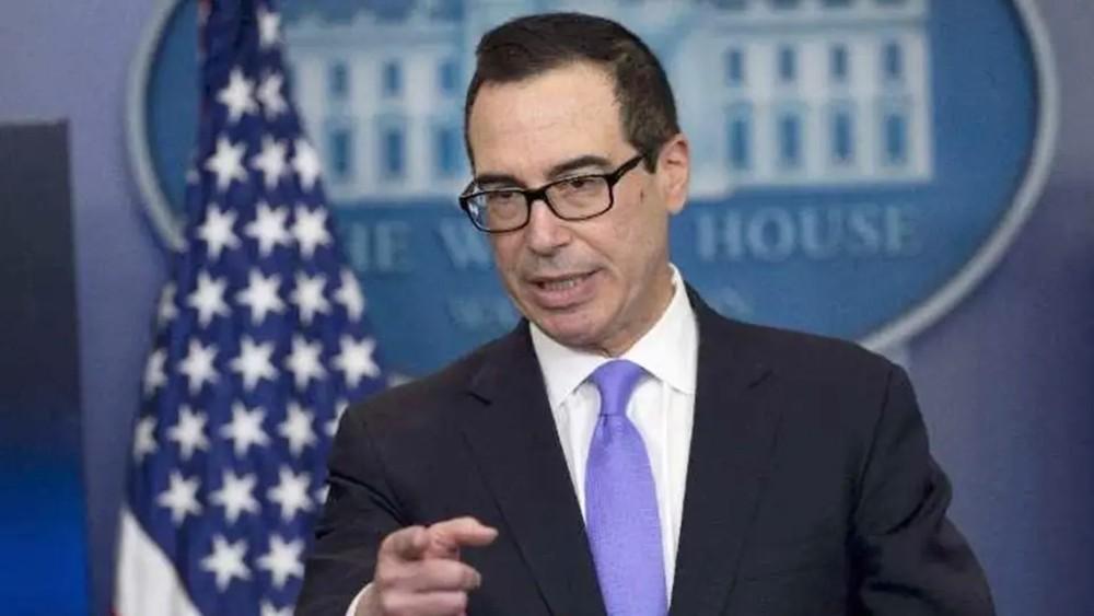 منوتشين: لا توقيت محددا لإنجاز التفاهم التجاري مع الصين