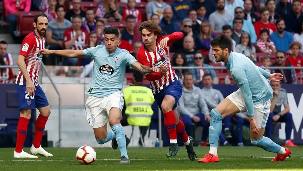 أتلتيكو مدريد يهزم سلتا ويقلص الفارق مع برشلونة