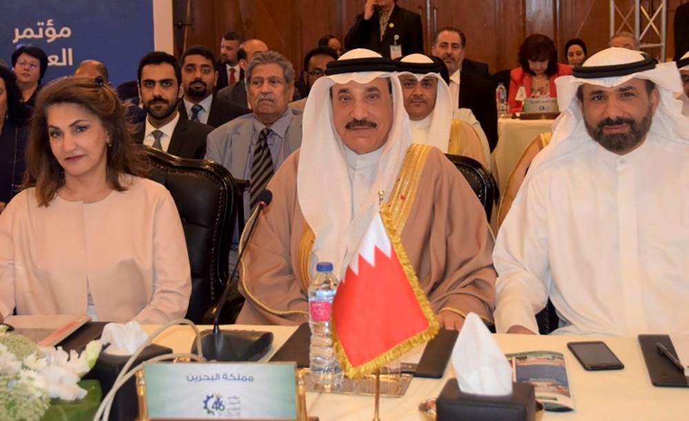 حميدان يترأس وفد البحرين في الدورة الـ(46) لمؤتمر العمل العربي