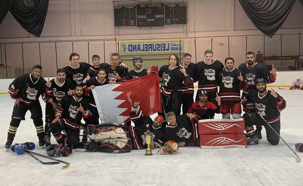 نادي الهوكي بطلاً لبطولة دبي الدولية للعام الثاني على التوالي