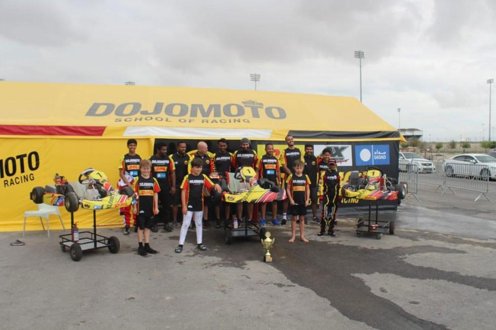 Dojomoto racing يحرز المركز الأول في 3 فئات
