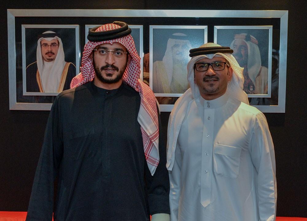خالد بن حمد يستقبل أمين عام اللجنة الأولمبية