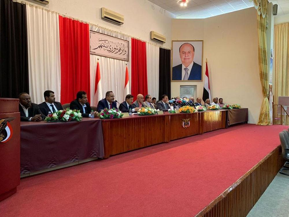 أحزاب اليمن تعلن تشكيل تكتل سياسي داعم للشرعية