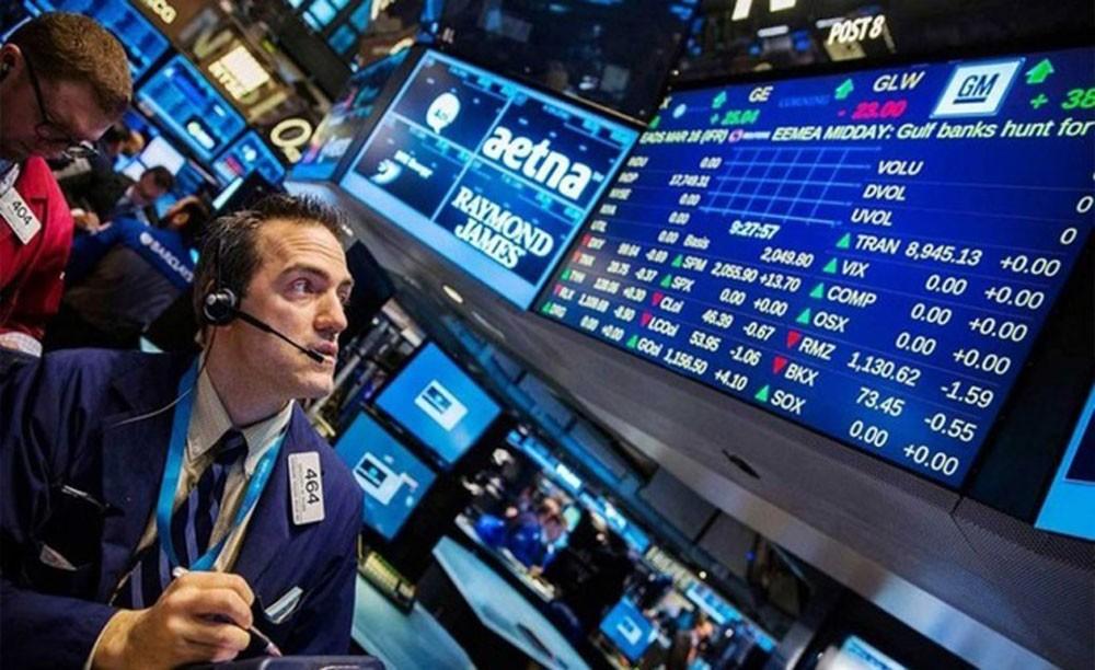 ارتفاع مؤشرات الأسهم الأمريكية في بورصة وول ستريت