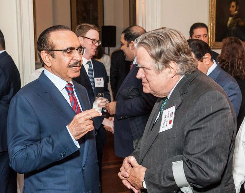 سفارة البحرين لدى واشنطن تقيم حفل استقبال على شرف وزير الداخلية