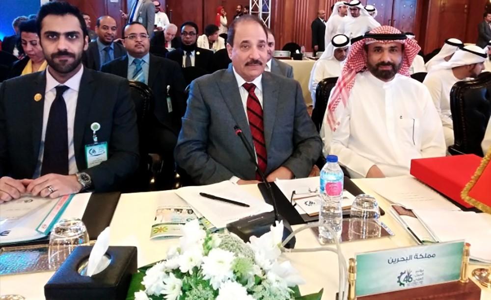 وزير العمل والتنمية الاجتماعية رئيسا لفريق الحكومات بمؤتمر العمل العربي