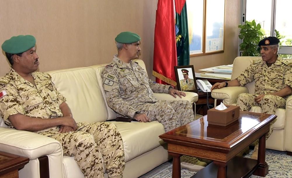 رئيس هيئة الأركان يستقبل قائد قوات درع الجزيرة المشتركة
