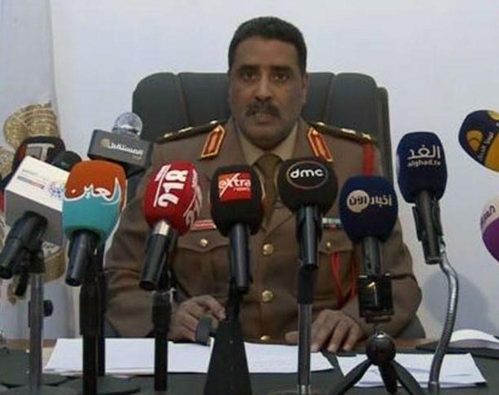 متحدث الجيش الليبي: حكومة الوفاق تخطط لهجوم على ترهونة