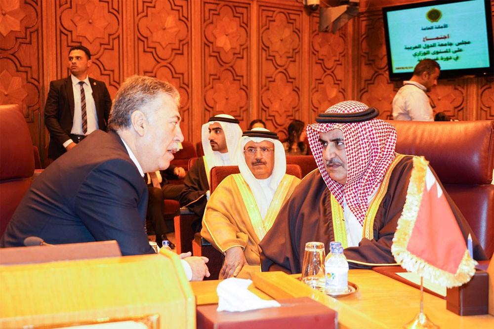 وزير الخارجية يشارك في اجتماع جامعة الدول العربية