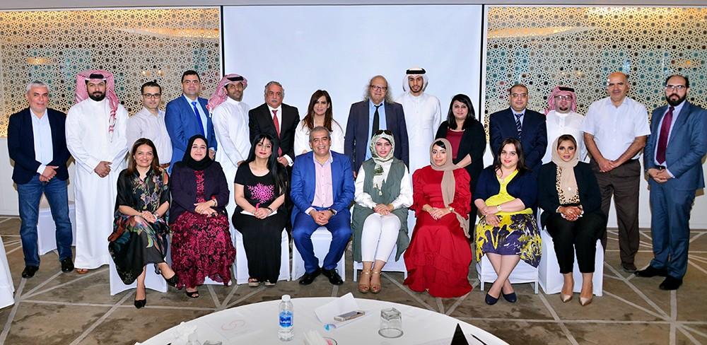 جمعية الصحفيين تبحث مع وفد الاتحاد الدولي أوجه التعاون