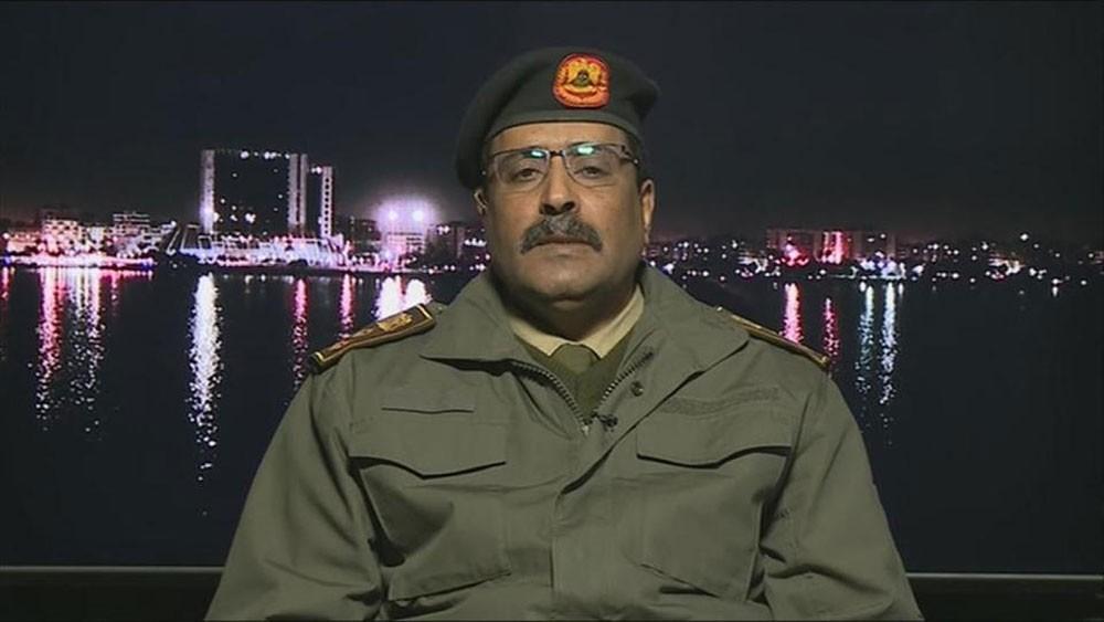المسماري: 10 كلم تفصل قوات الجيش عن مركز طرابلس