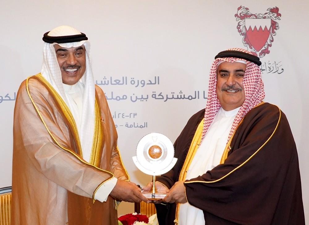 انعقاد الدورة العاشرة للجنة العليا المشتركة للتعاون بين البحرين والكويت في المنامة