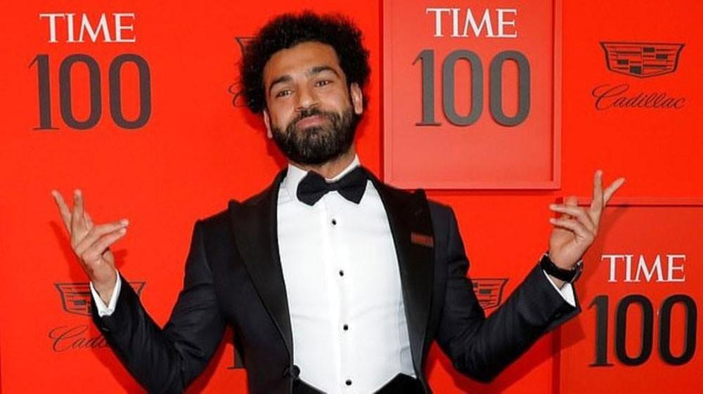 صلاح يحضر حفل أكثر 100 شخصية مؤثرة في العالم