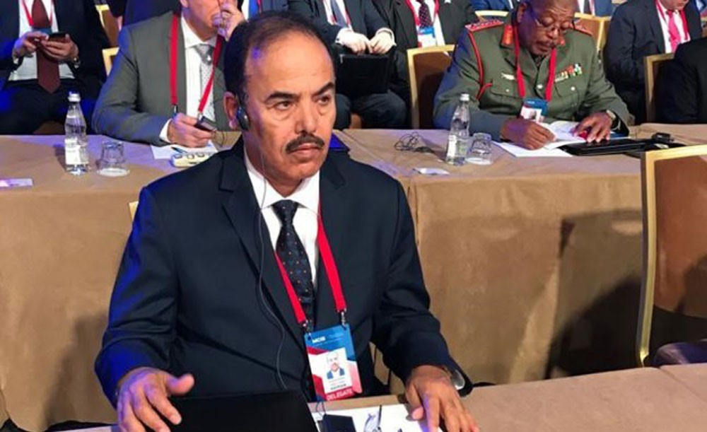 وزير شؤون الدفاع يشارك في مؤتمر الأمن الدولي الثامن بموسكو