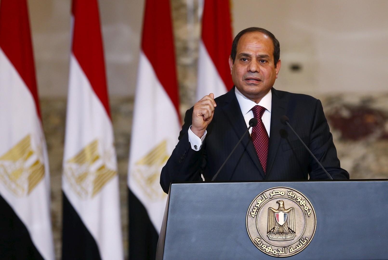 الرئيس المصري يصدر قرارا بتمديد حالة الطوارئ