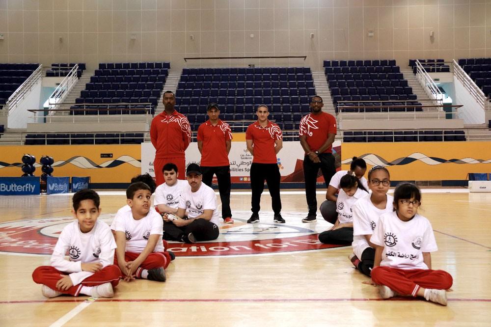 الاتحاد البحريني لرياضة ذوي الإعاقة ينظم (برنامج رياضي الكفيف)