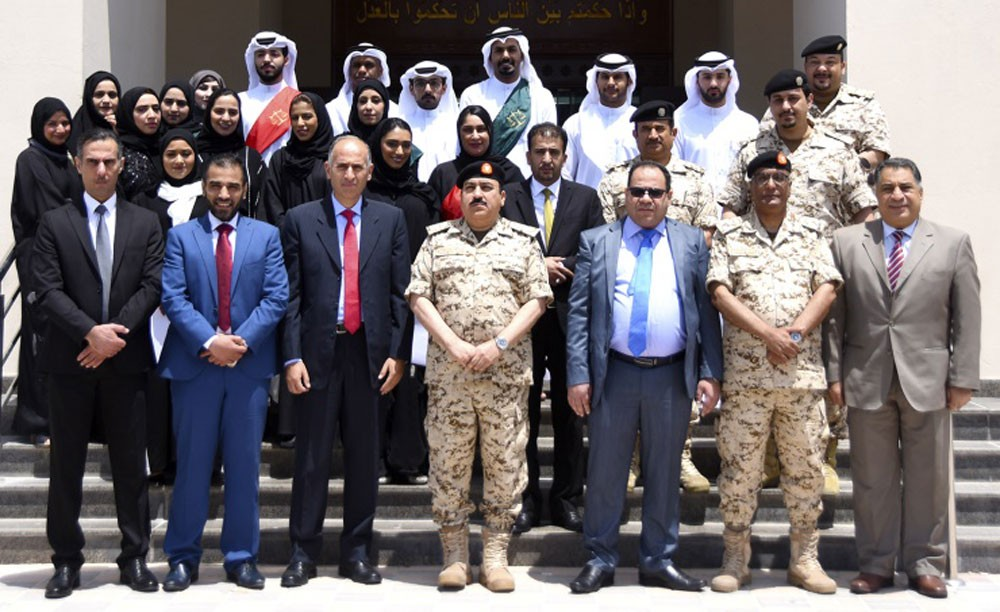 القضاء العسكري يختتم برنامج التدريب العملي للطلبة الحقوقيين