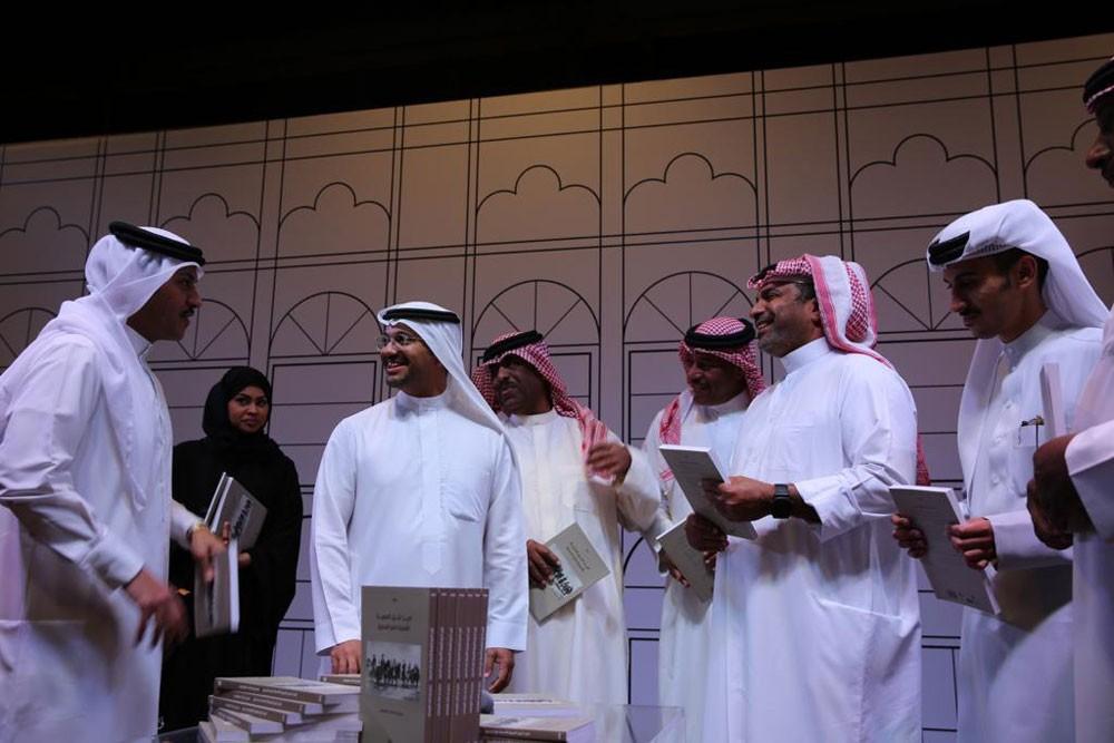 """تدشين كتاب """"تاريخ الخيل العربية الأصيلة في البحرين"""""""