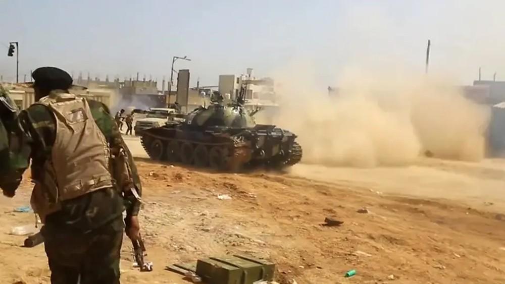 شيوخ قبائل برقة يدعمون الجيش الليبي في تحرير طرابلس