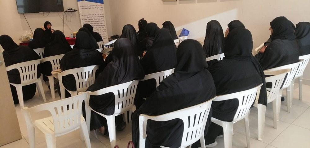 مركز شباب الهملة ينظم محاضرة للنساء بشعار علاج ارتفاع السكر مسئوليتك