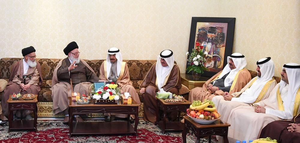 سمو رئيس الوزراء : المجتمع البحريني سيبقى أبد الدهر عصياً على كل محاولات الفرقة والانقسام