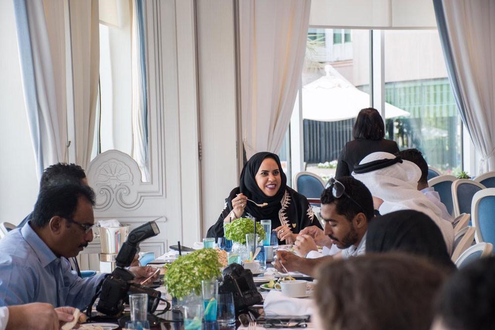 غولدن غيت تكرم الإعلاميين في حفل غداء